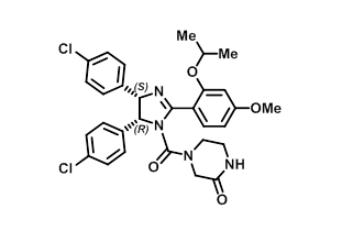 Image for MDM2 inhibitor (-)-Nutlin 3a Small Molecule (Tool Compound)