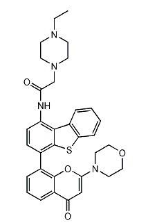 Structure of KU-0060648